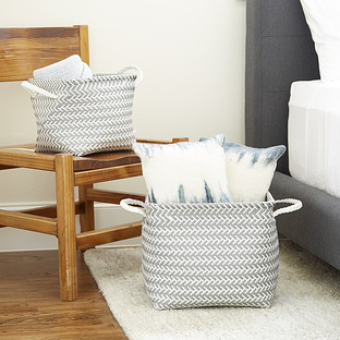 Arrow Woven Storage Bins