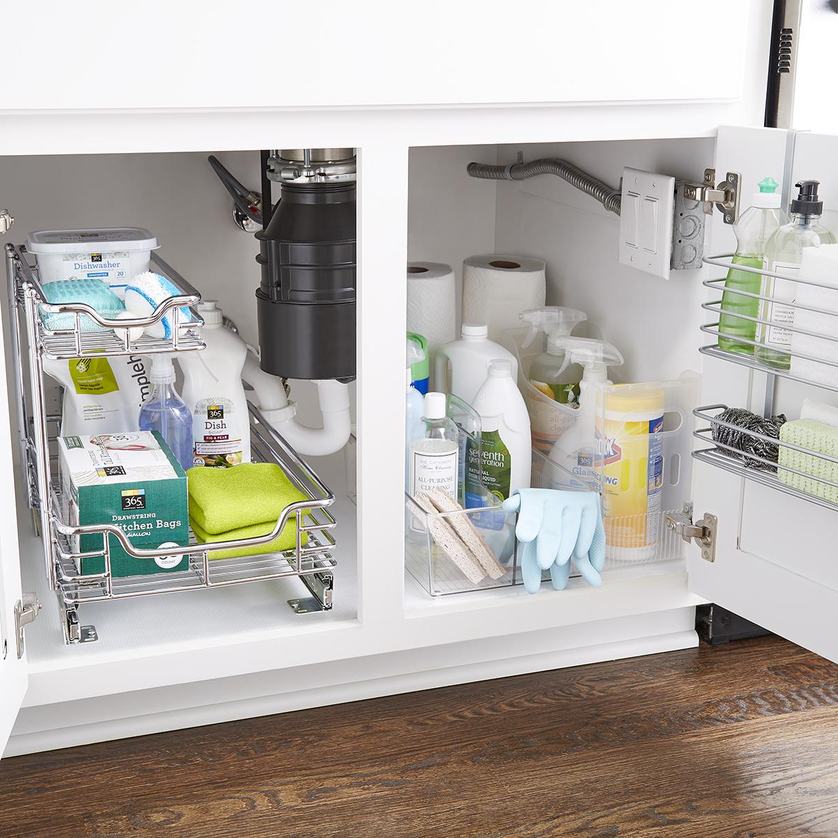 Under Sink Organization Starter Kit