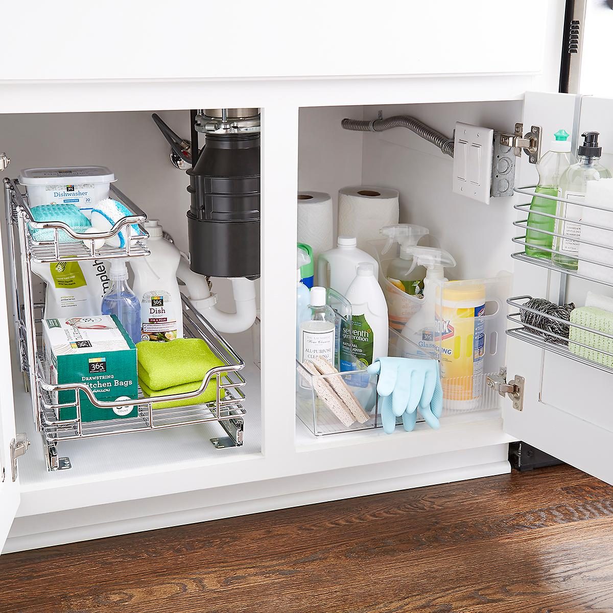 Under Sink Organization Starter Kit