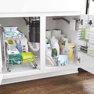 Under Sink Organization Starter Kit The Container Store