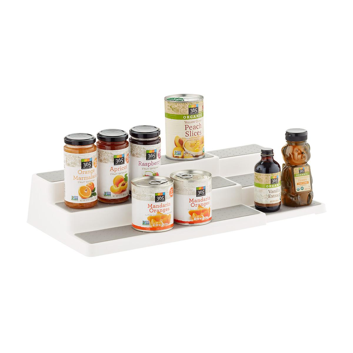 madesmart Expandable Pantry Shelf & Spice Organizer