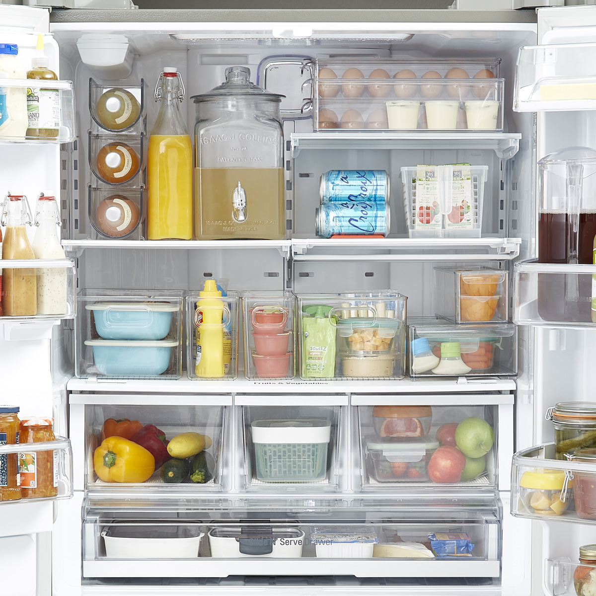 Fridge Organization Starter Kit