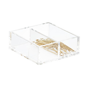 Russell Hazel Acrylic Divided Box