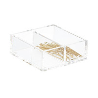 Russell Hazel Acrylic Divided Box Product Image