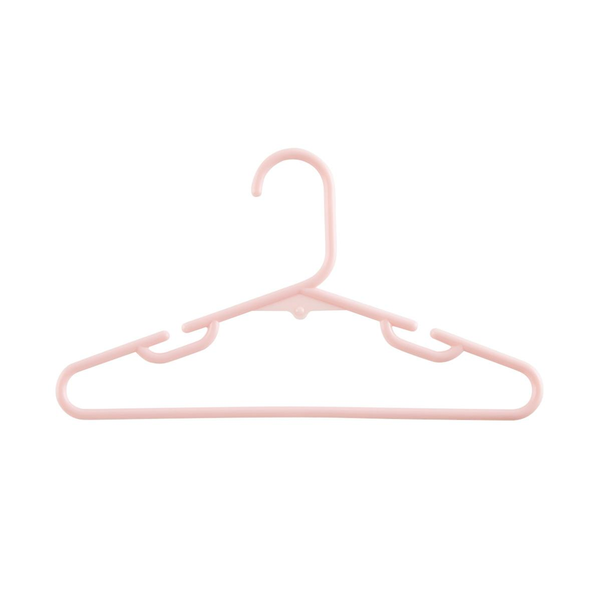 Children's Blush Tubular Hangers