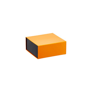 Orange Dot Glossy Collapsible Gift Box