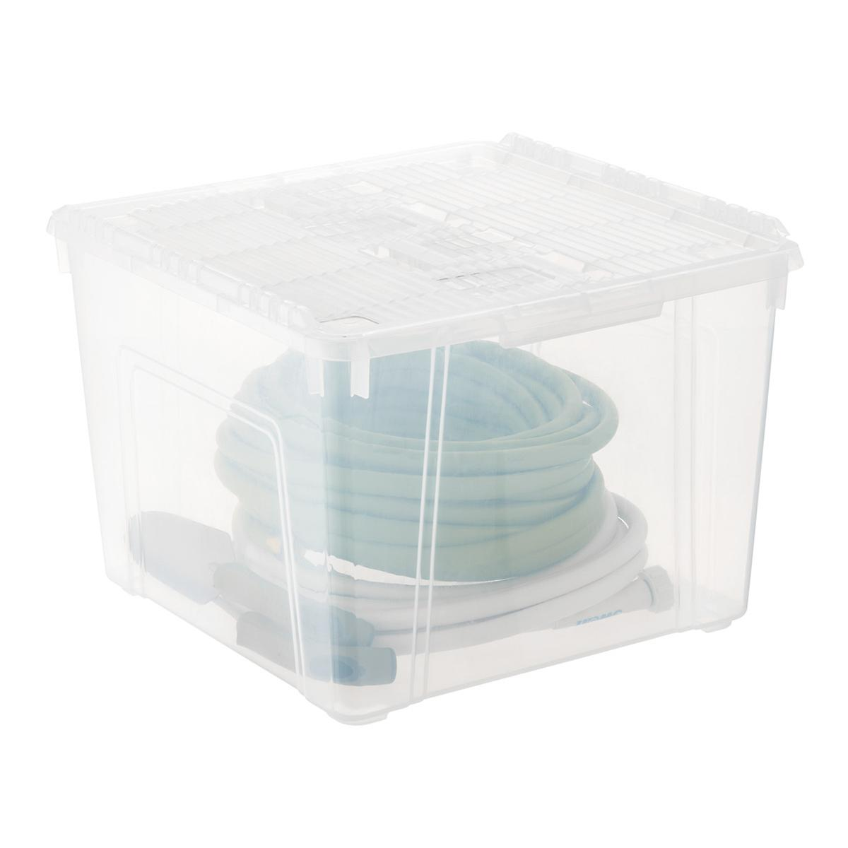 Iris Wing-Lid Storage Box