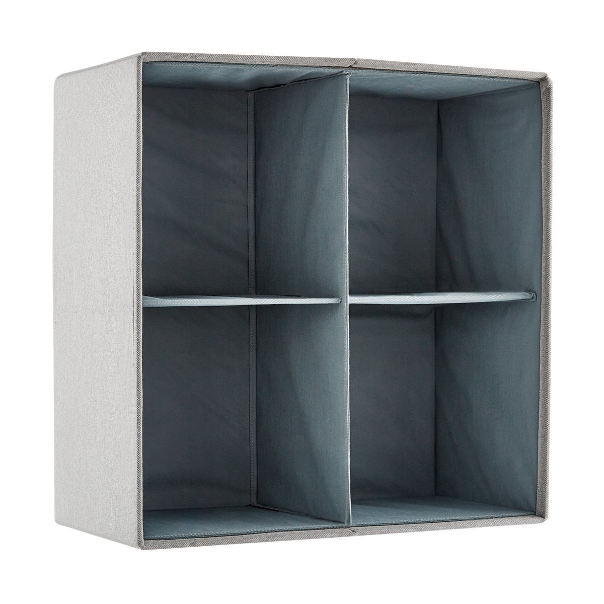 Poppin 2x2 Fabric Storage Cubby