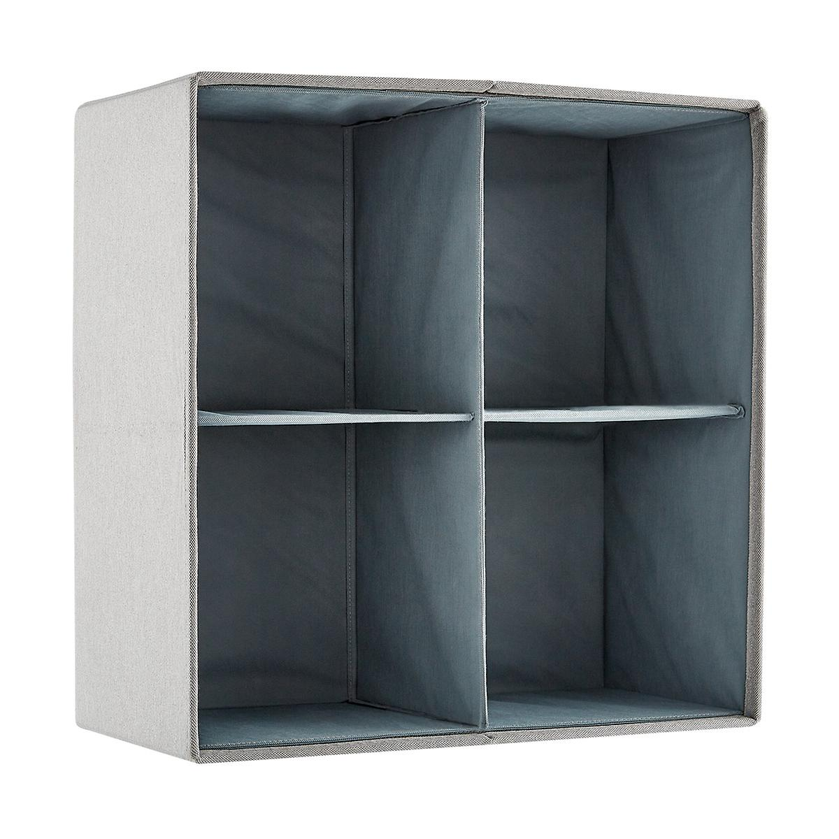 Poppin 2x2 Fabric Storage Cubby