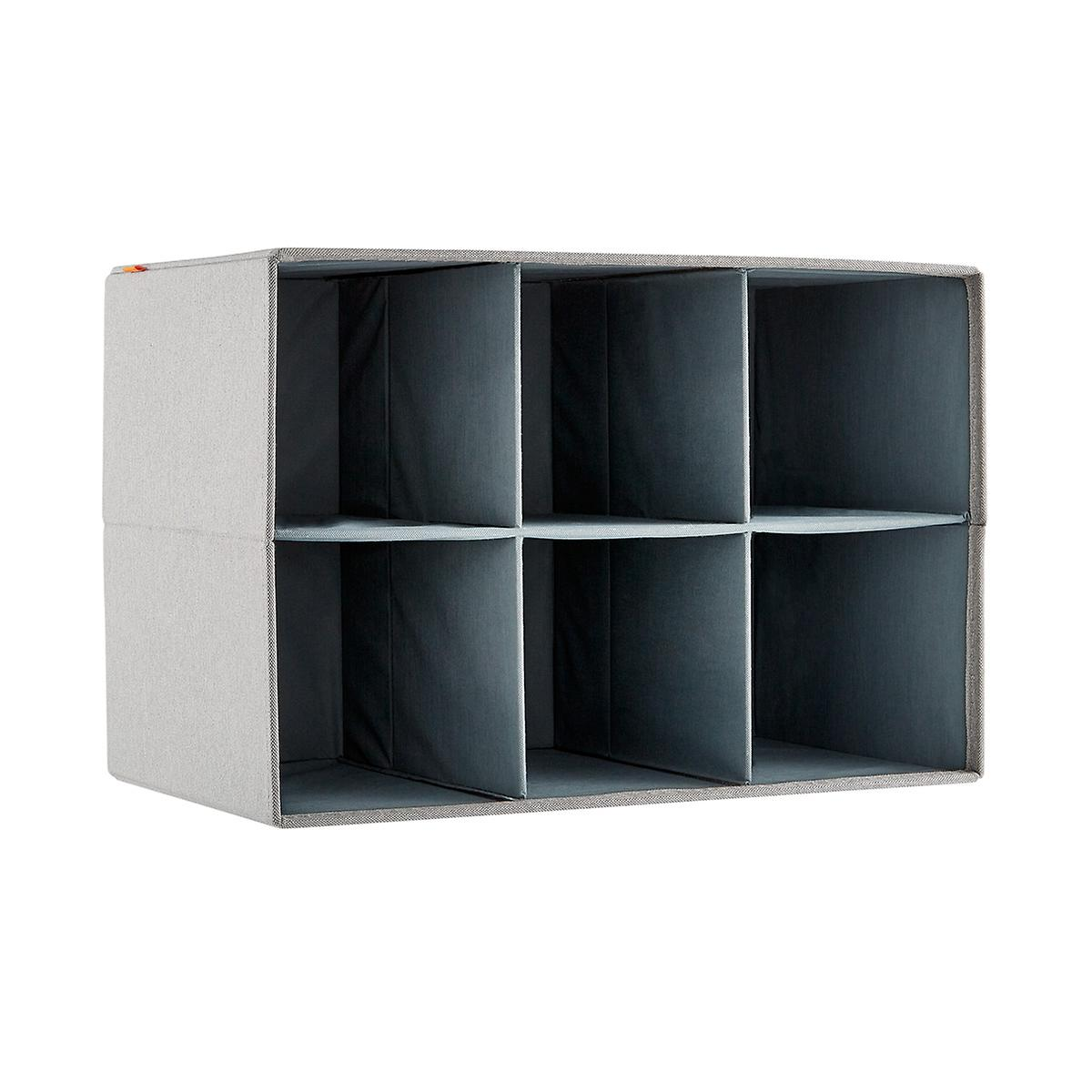 Poppin 3x2 Fabric Storage Cubby