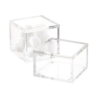 Square Acrylic Canisters