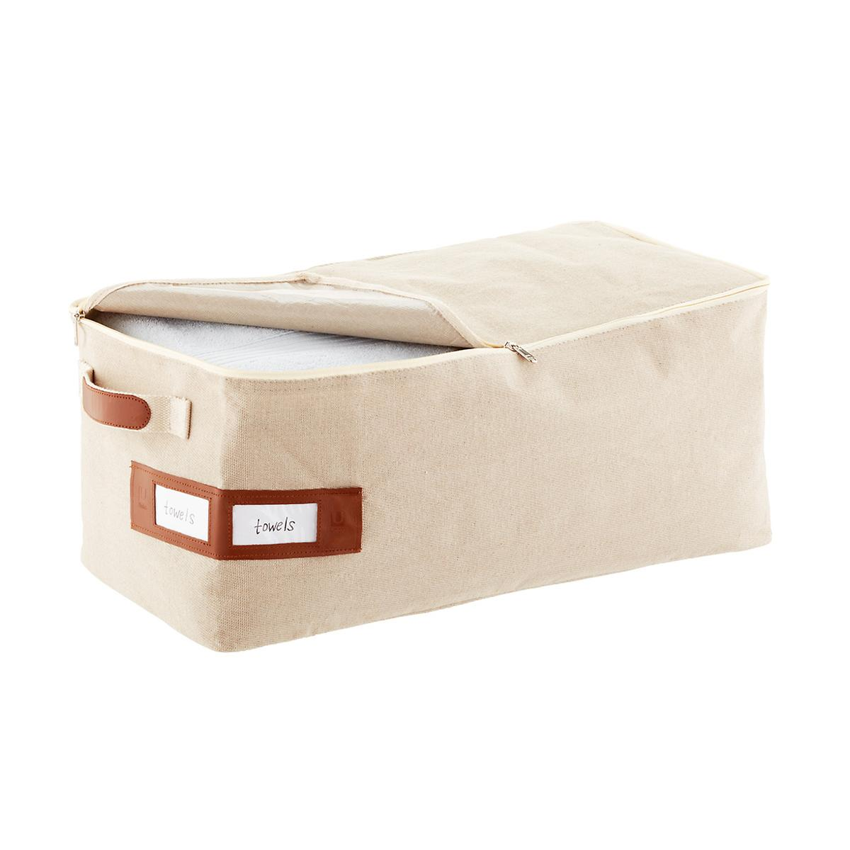 Umbra Medium Heather Brown Artisan Crunch Storage Bag