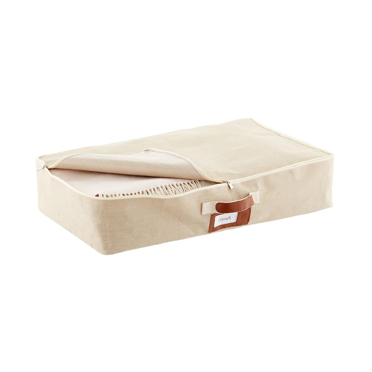 Umbra Heather Brown Under Bed Artisan Crunch Storage Bag