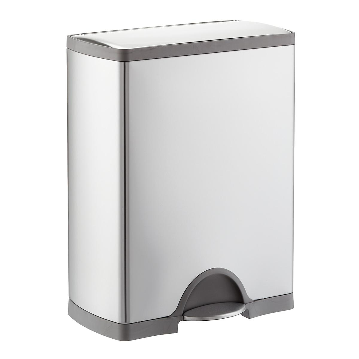simplehuman 13 gal. Rectangular Step Trash Can