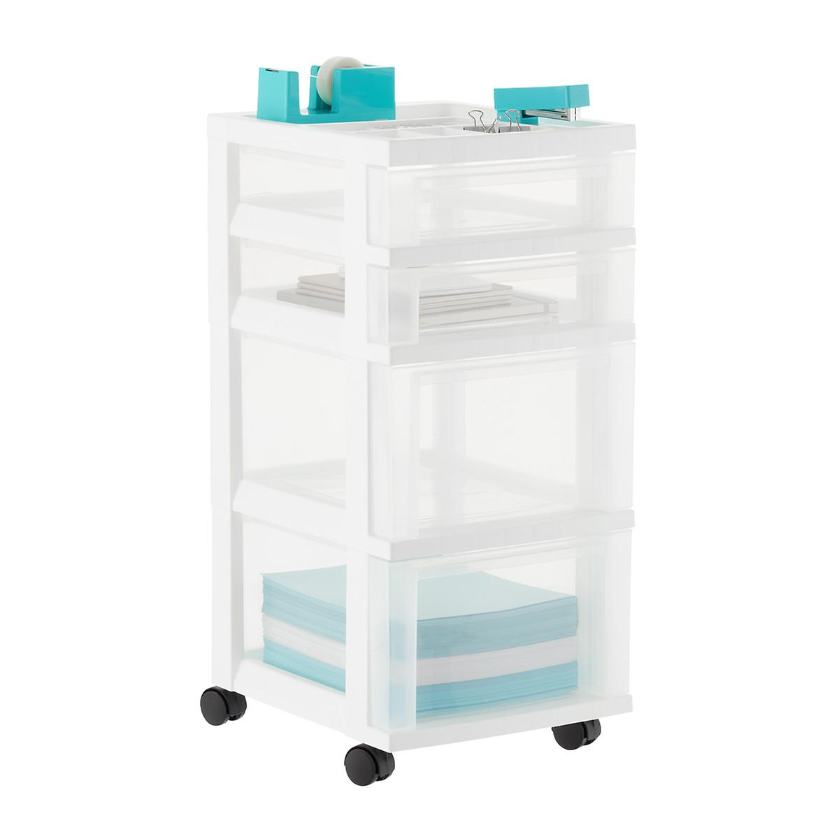 Iris 4-Drawer Chest with Organizing Top Tray