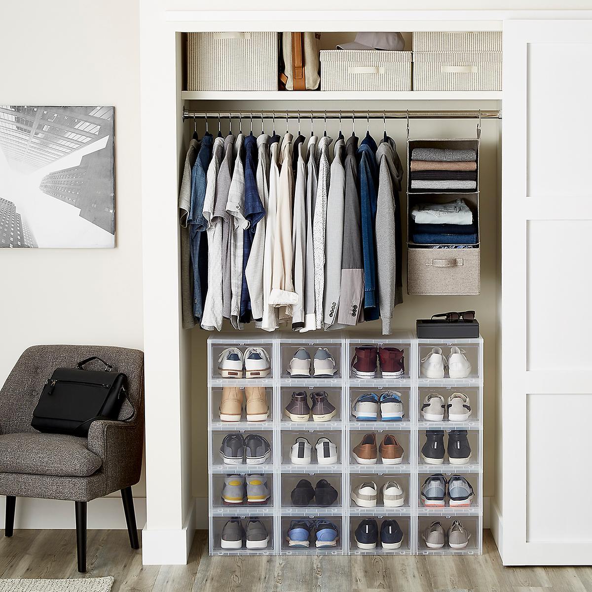 ikea men original ohperfect closet shoe mens ideas very design