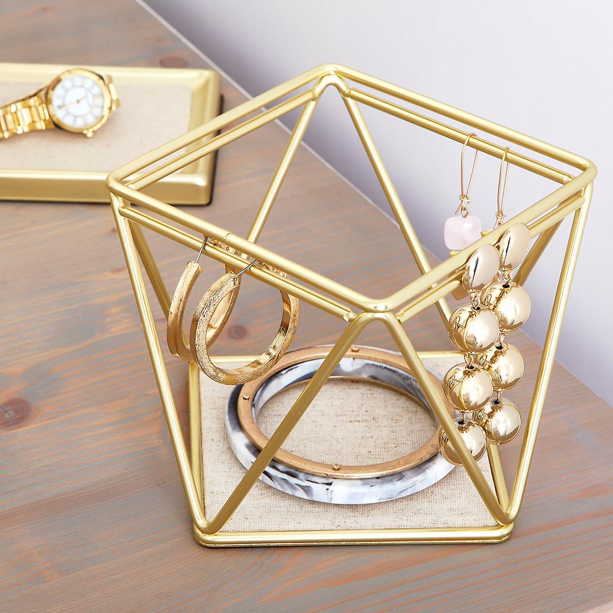Umbra Gold Prisma Bracelet & Earring Holder