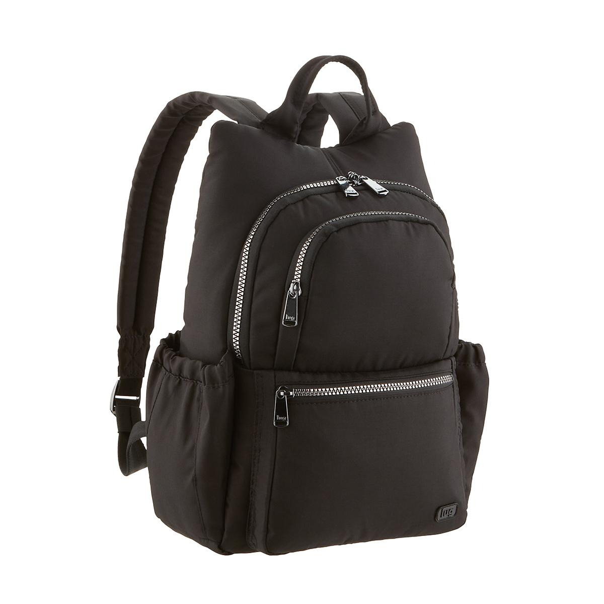 Lug Black Hatchback Mini Backpack