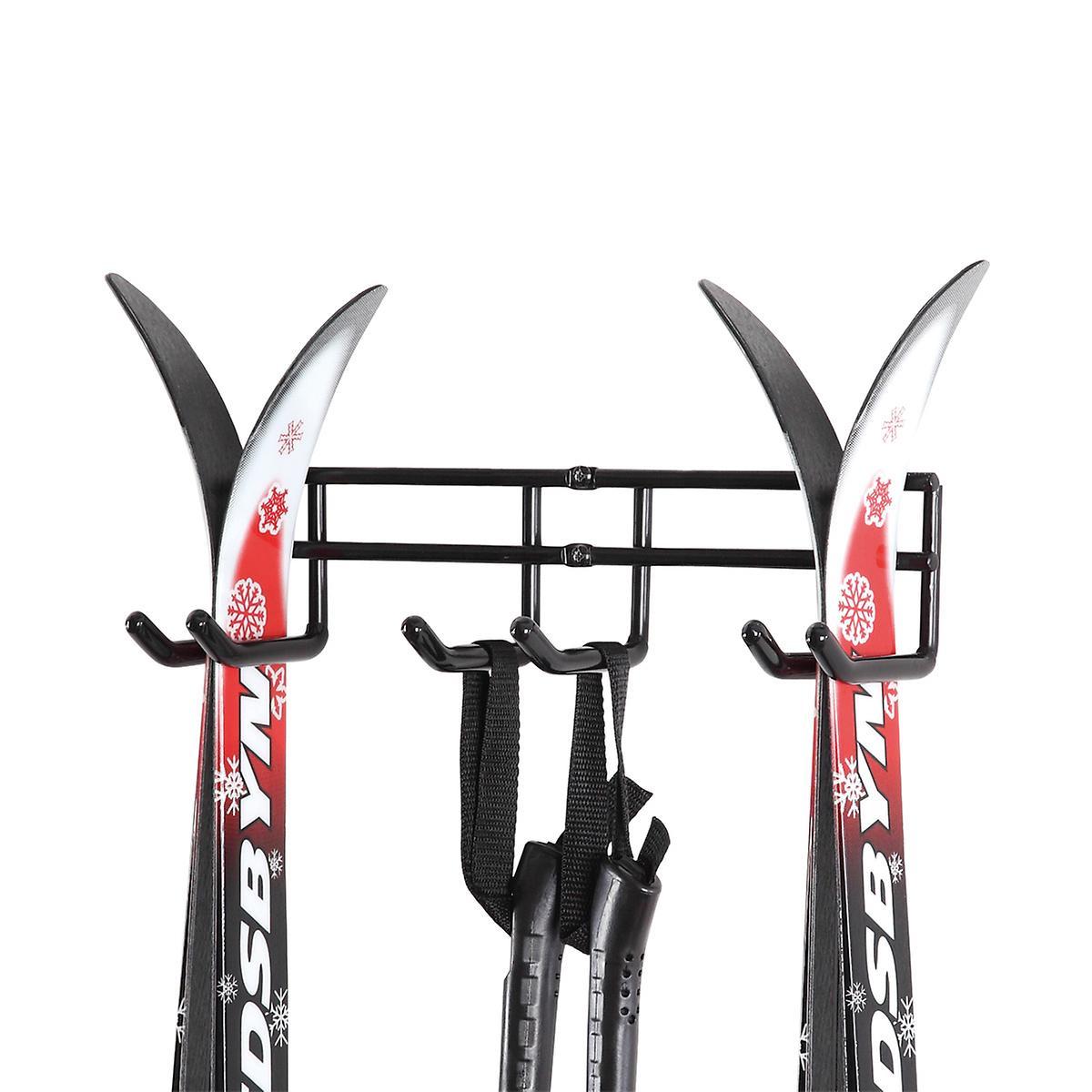 Double Ski Storage Hanger