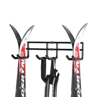 Double Ski Storage Hanger