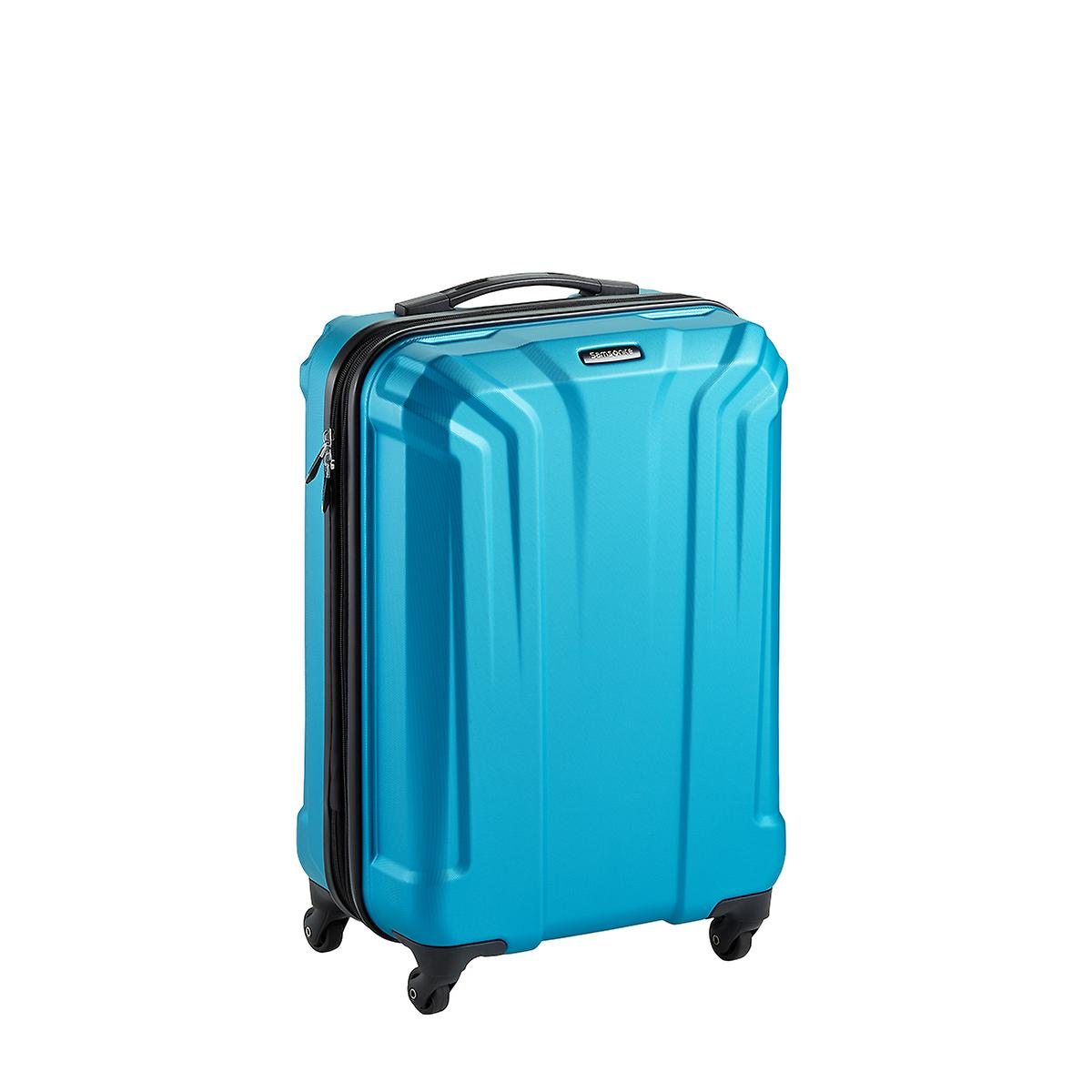 "Samsonite 22"" Electric Blue Opto PC 4-Wheeled Luggage"