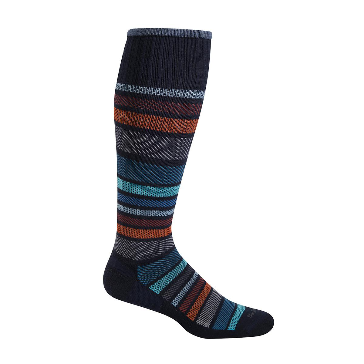 Large/X-Large Navy Twillful Compression Socks
