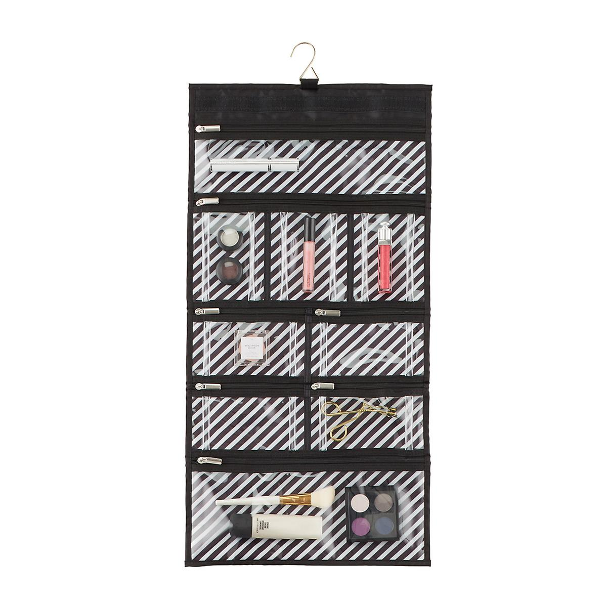 Parisian Stripe Hanging Toiletry Organizer