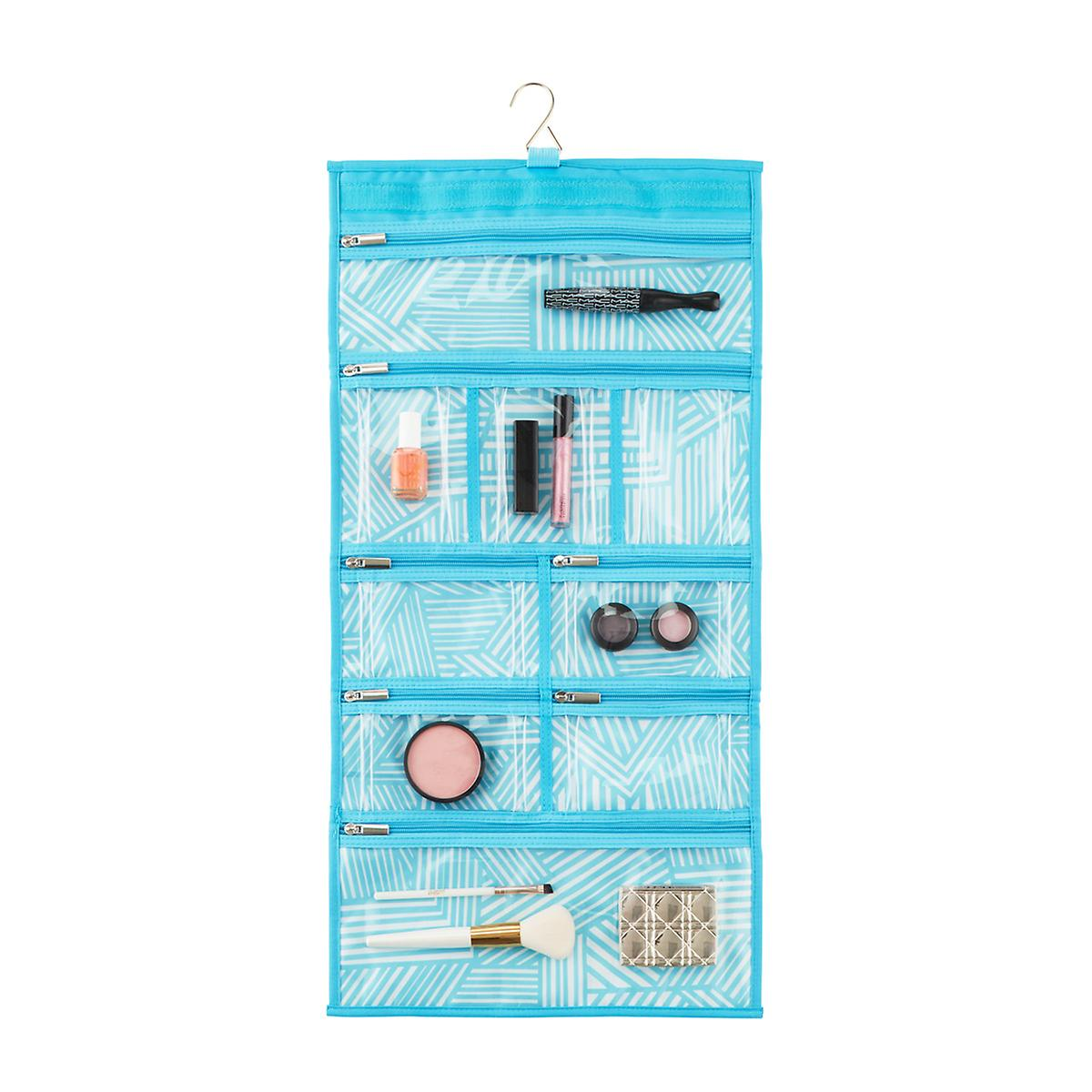 Safari Stripe Hanging Toiletry Organizer