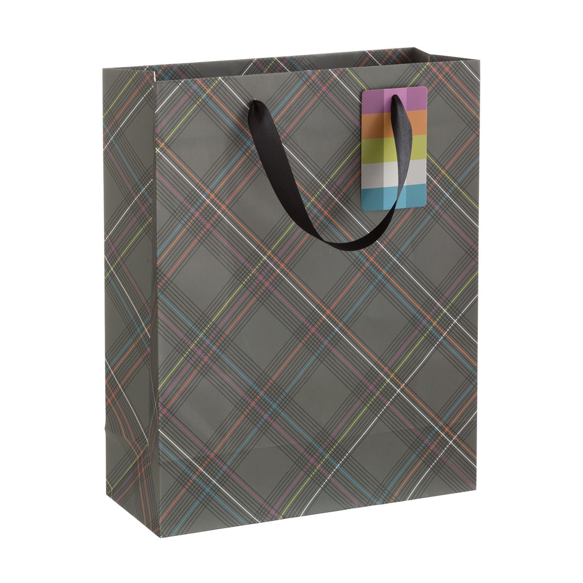 Winchester Plaid Large Gift Bag
