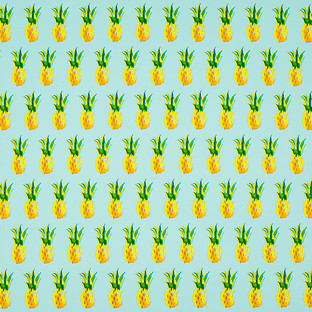 Pineapples Wrapping Paper