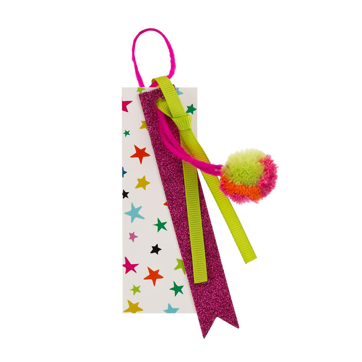 Flair Pom Party Gift Tag