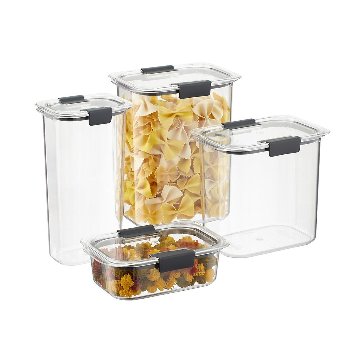 Rubbermaid Brilliance Pantry Set of 8