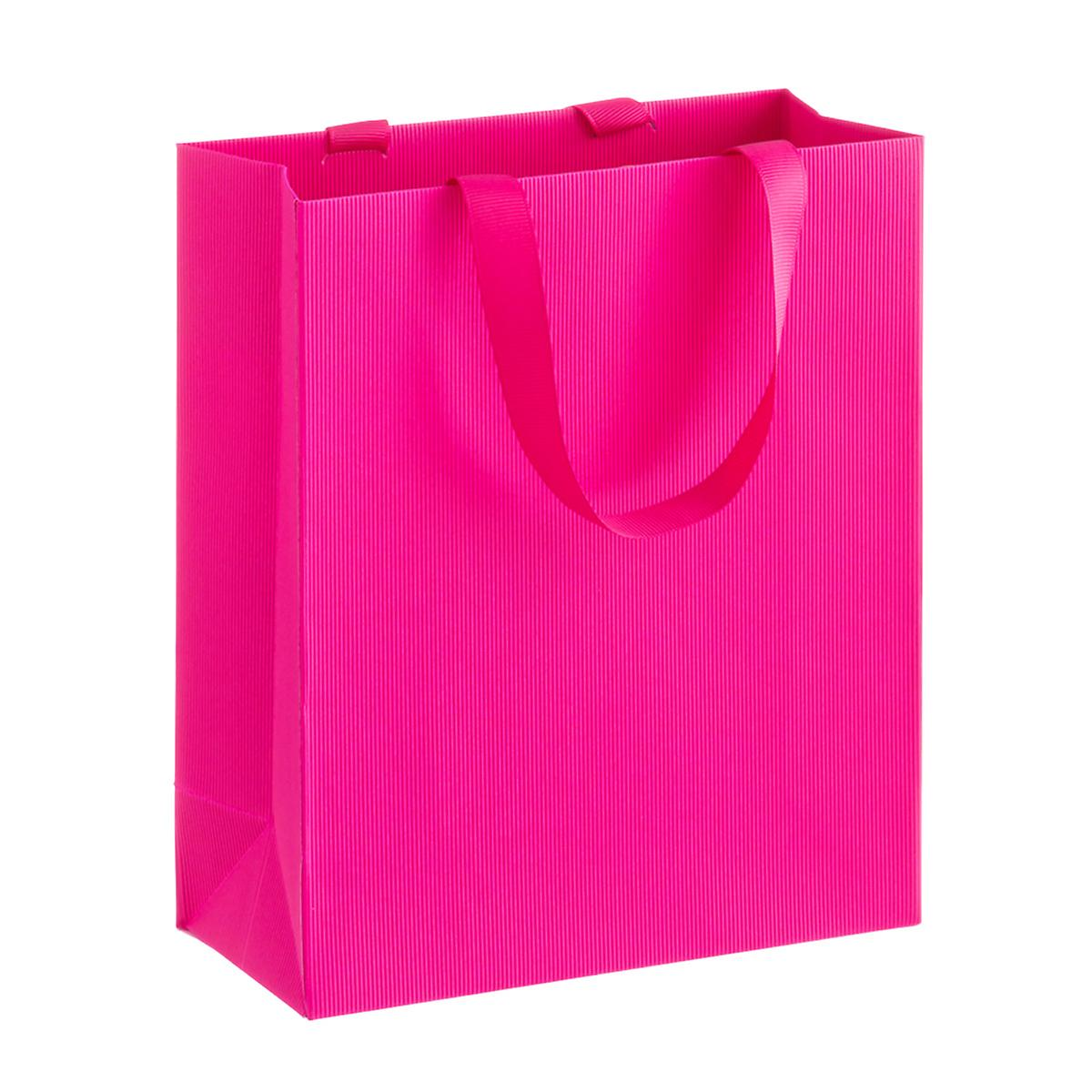 Solid Fuchsia Small Gift Bag