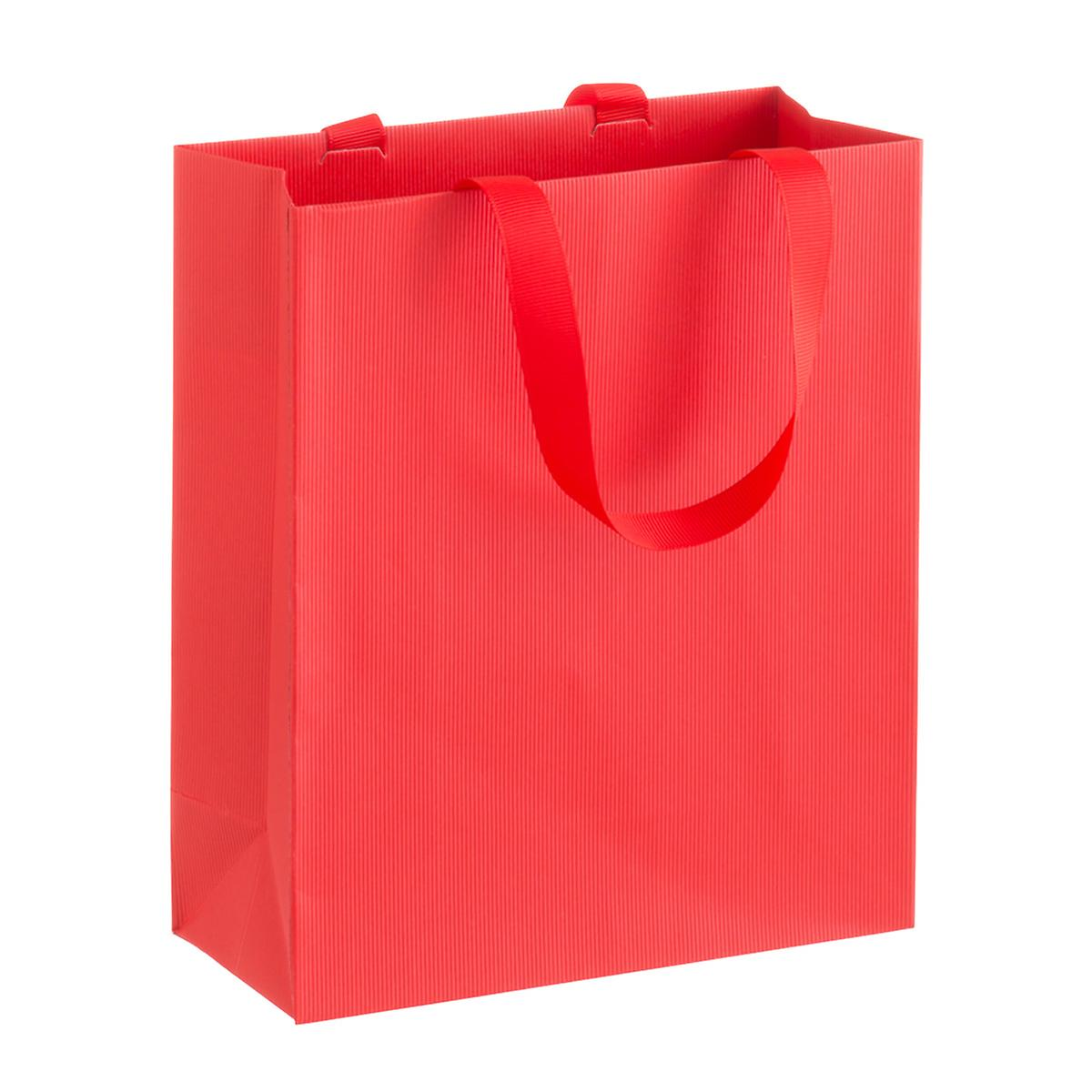 Solid Red Small Gift Bag