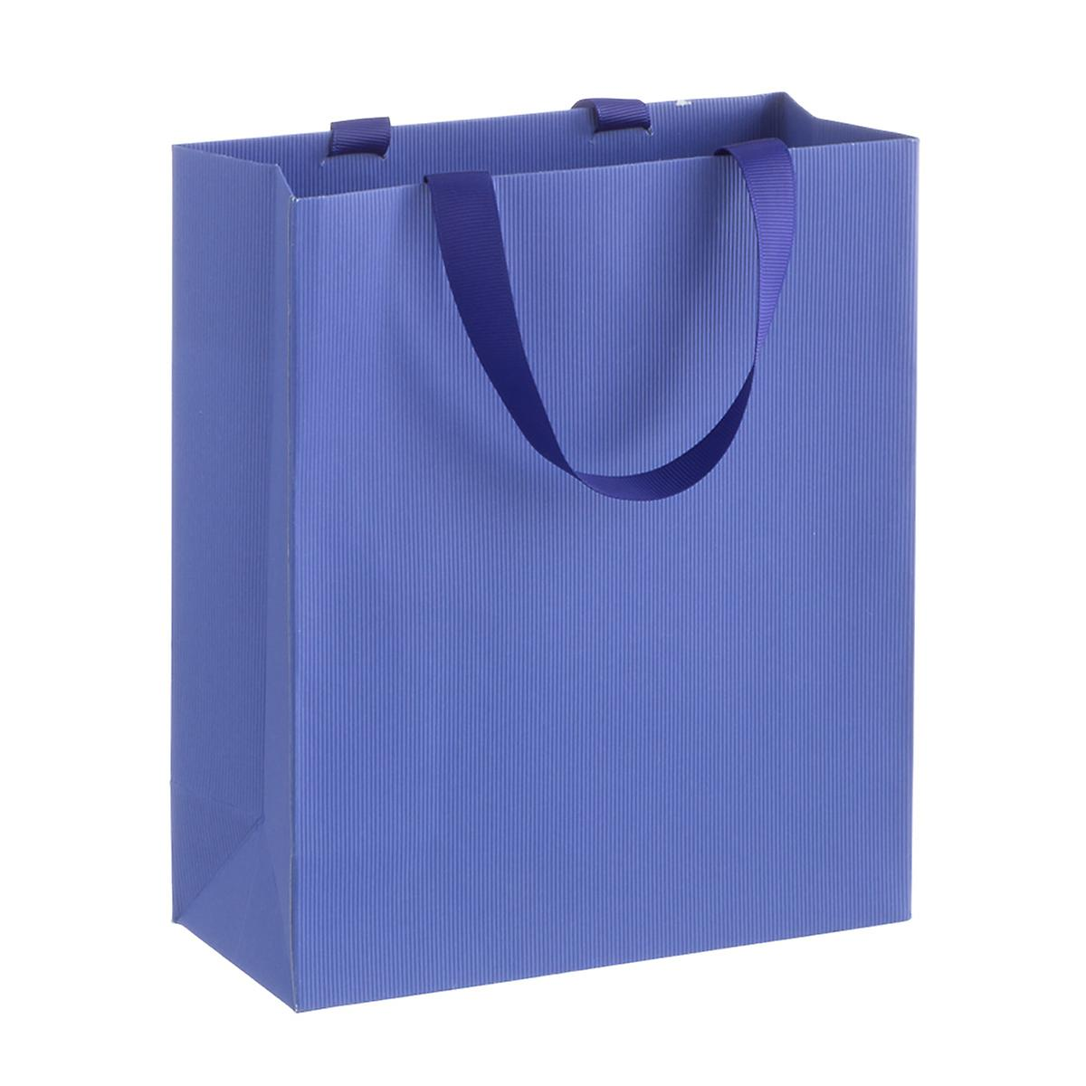 Solid Royal Blue Small Gift Bag