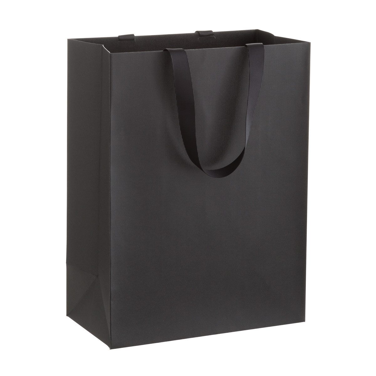 Solid Black Large Gift  Bag