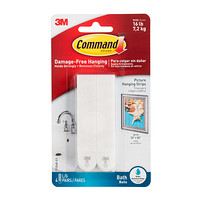 3M Command Bath Picture Hanging Strips Product Image