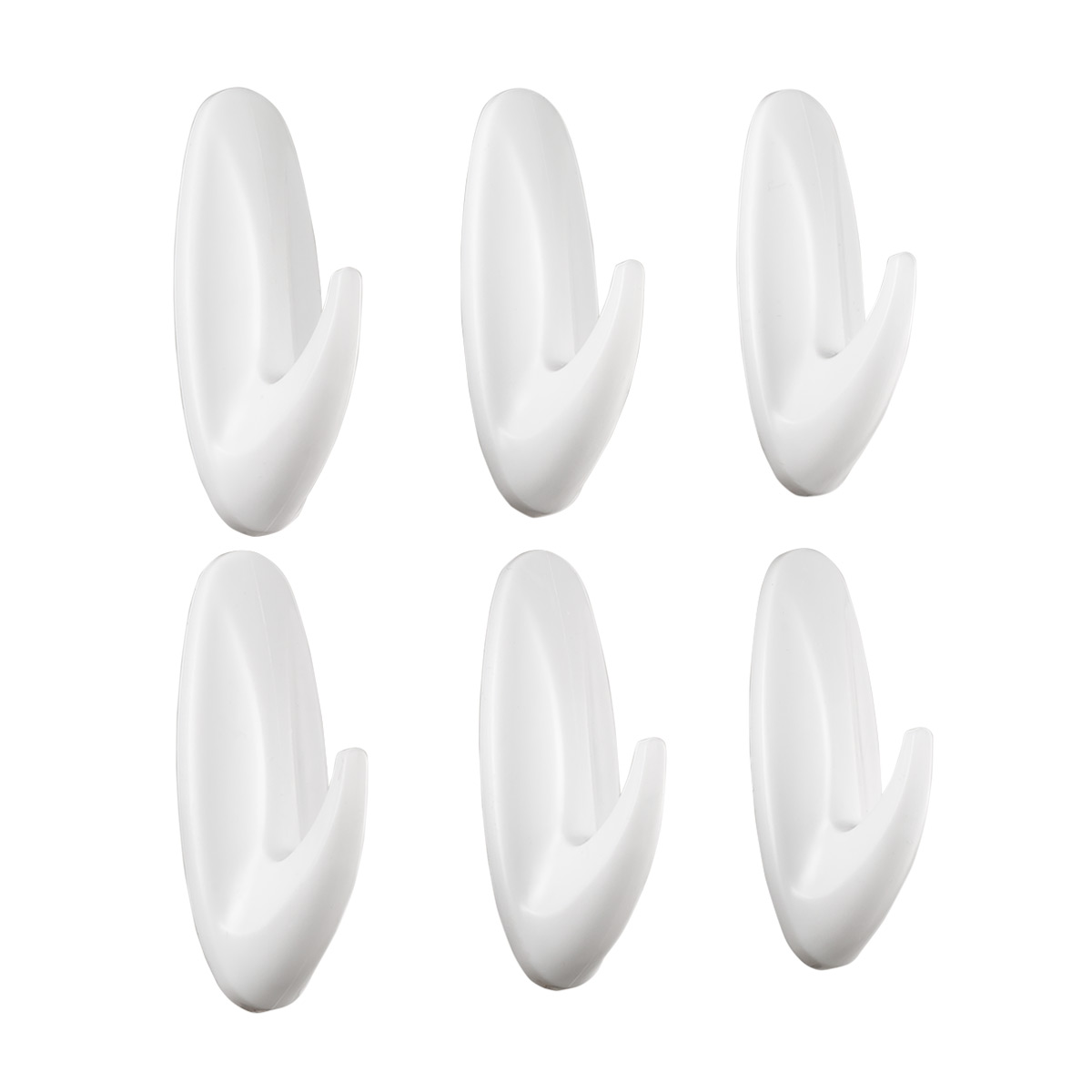 3M Command Medium White Designer Hooks Value Pack
