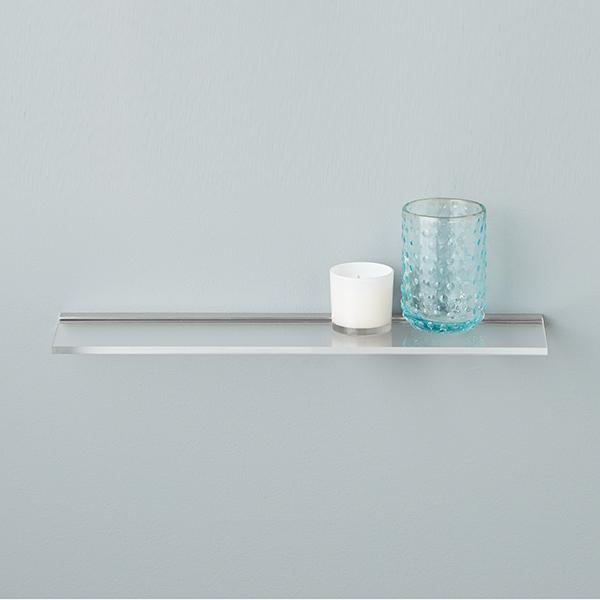 Umbra Sheer Acrylic Wall Shelf