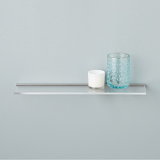 Umbra Sheer Acrylic Wall Shelf