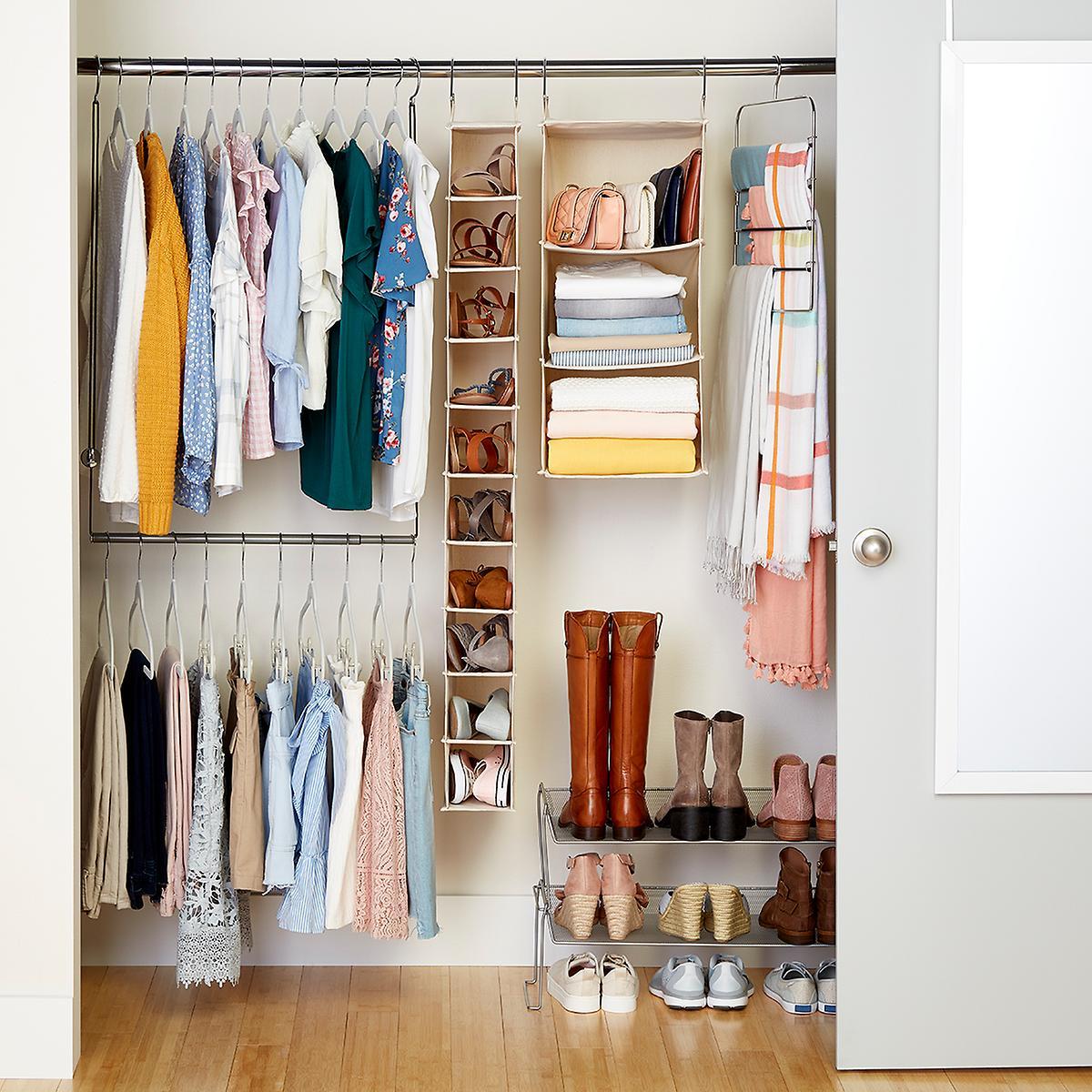 College Closet & Over the Door Starter Kit -Girls