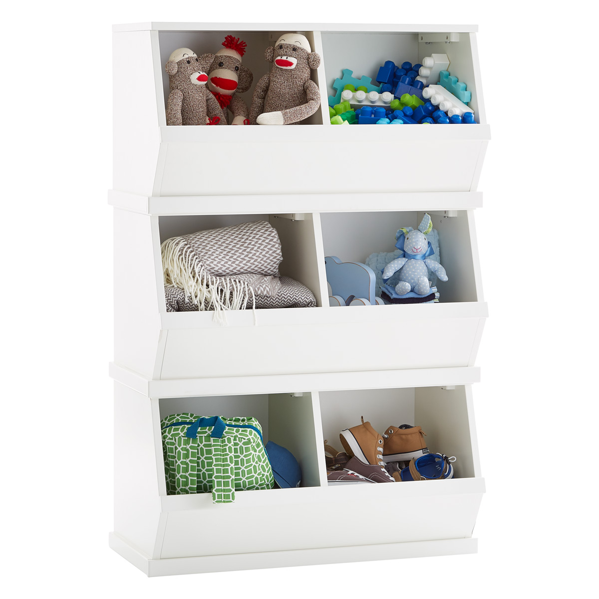 Q U0026 A. 17 Questions | 17 Answers. White Nantucket Stackable Storage Bin