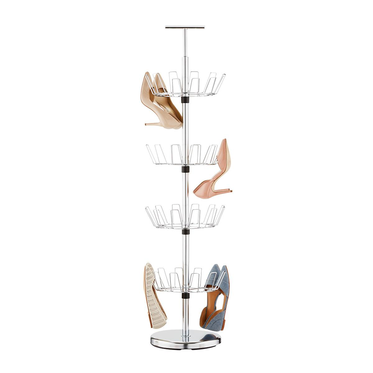 Chrome 4-Tier Shoe Tree
