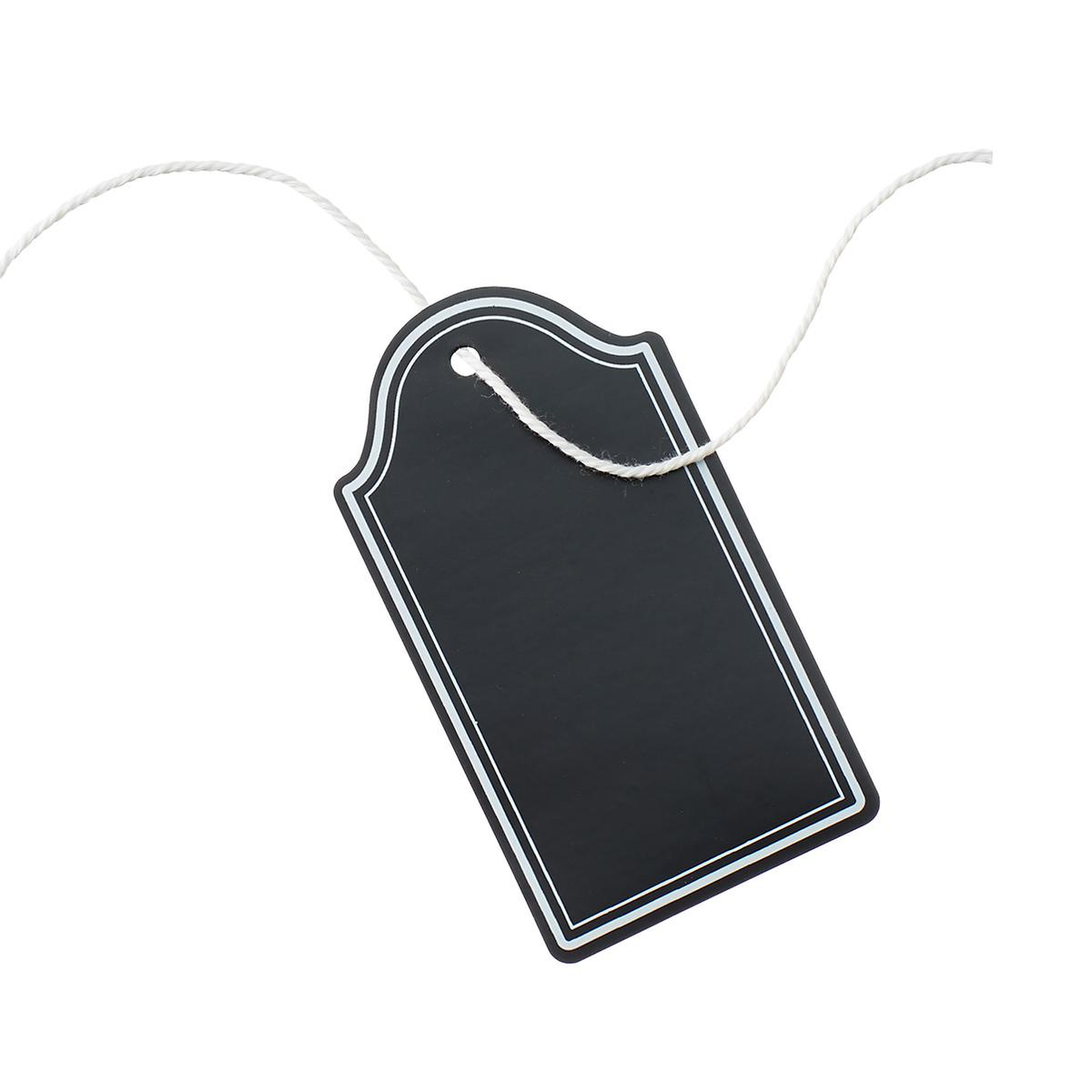 U-Brands Chalk Tie Tags with Cotton String