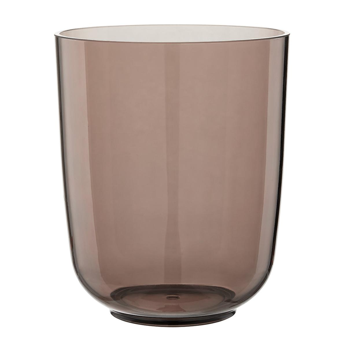 Umbra Droplet Smoke Acrylic Trash Can