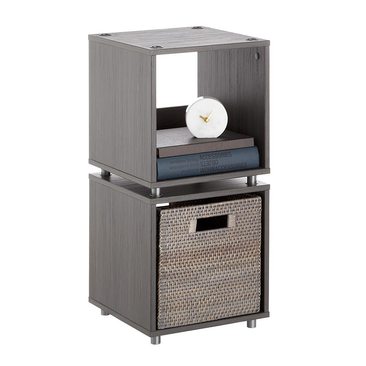 Small Weathered Smoke Vario Stackable Shelf