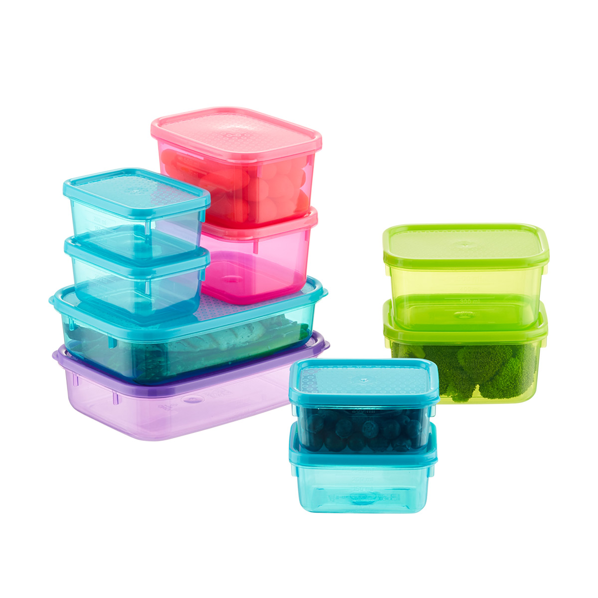 Tellfresh Jewel Food Storage Set of 10