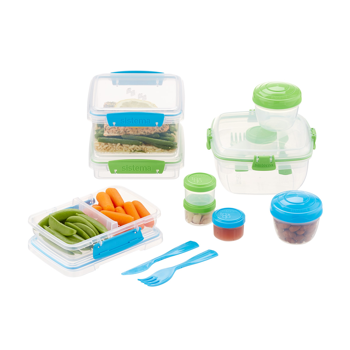 Sistema To-Go Assorted Set of 25