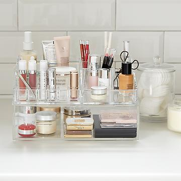 20% off Luxe Acrylic Makeup Storage