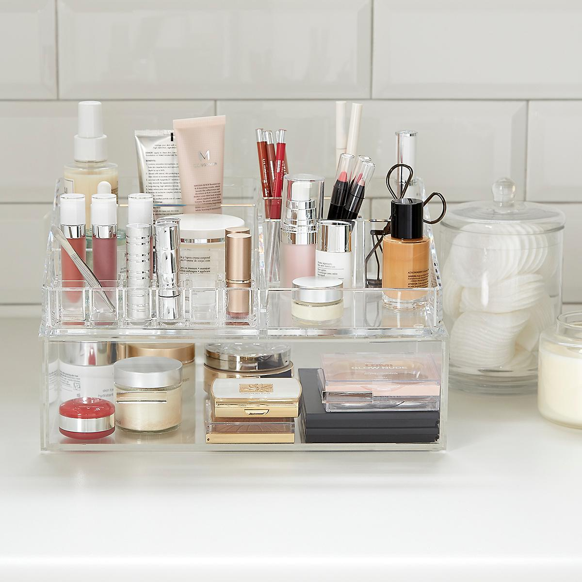 Luxe Acrylic Makeup Organizer Starter Kit